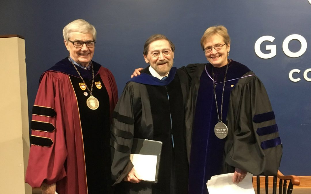 Installation of two faculty chairs